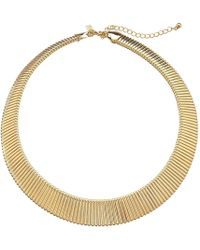 Kenneth Jay Lane - Stretch Collar Necklace - Lyst