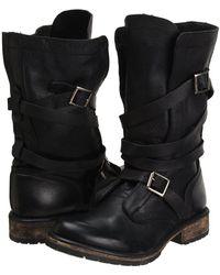 Steve Madden - Banddit Boot (black Leather) Women's Boots - Lyst