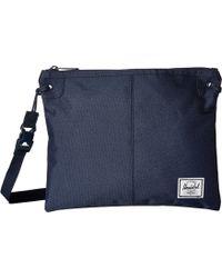 Herschel Supply Co. - Alder (navy) Cross Body Handbags - Lyst f54012e3243b3