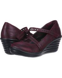 Skechers - Rumbler Wave Filigree (burgundy) Women's Shoes - Lyst