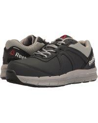 Reebok - Guide Work Steel Toe (navy/grey) Men's Work Boots - Lyst