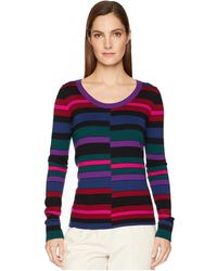 Paul Smith - Striped Sweater (blue) Women's Sweater - Lyst