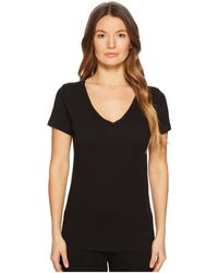 Skin - V-neck Easy Tee (white) Women's Pajama - Lyst