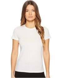 Vince - Essential Crew (black) Women's T Shirt - Lyst