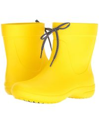 Crocs™ - Freesail Shorty Rainboot - Lyst