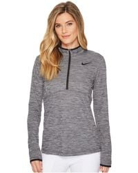 Nike - Dry Top 1/2 Zip Left Chest - Lyst