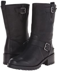 f735be2ccbf Lyst - Cole Haan Chesney Leather Ankle Boots in Black