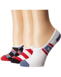 Vans - Glory Canoodle 3-pack Socks (multi) Women's Low Cut Socks Shoes - Lyst