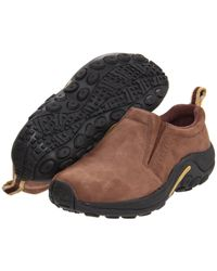 Merrell - Jungle Moc Nubuck (black/blue) Women's Shoes - Lyst