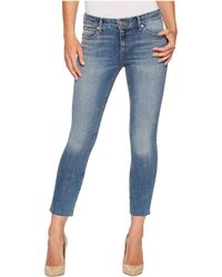 Lucky Brand - Lolita Crop Cut Hem Jeans In Sunbeam (sunbeam) Women's Jeans - Lyst