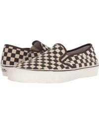 Lyst - Vans Unisex Old Skool (desert Tribe) Skate Shoe in Black for Men e6bd01c7c