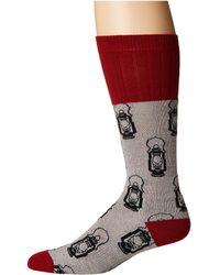 Socksmith - Lantern (hemp) Men's Crew Cut Socks Shoes - Lyst