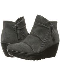 1cd668980fe8 Skechers - Parallel (charcoal) Women s Zip Boots - Lyst