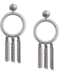 Lucky Brand - O Tassel Earrings - Lyst