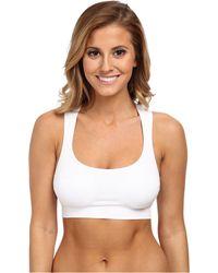 Jockey Active - Performance Push-up Seamless Sports Bra (white) Women's Bra - Lyst