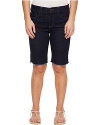 NYDJ - Petite Briella Shorts W/ Fray Hem In Rinse (rinse) Women's Shorts - Lyst