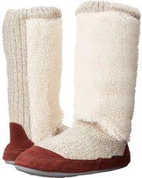 Acorn - Slouch Boot (buff Popcorn) Women's Slippers - Lyst