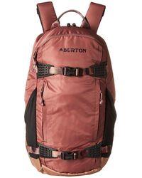Burton - Dayhiker 25l (rose Brown Flight Satin) Day Pack Bags - Lyst
