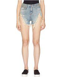 R13 - Shredded Slouch Shorts (rutland) Women's Shorts - Lyst