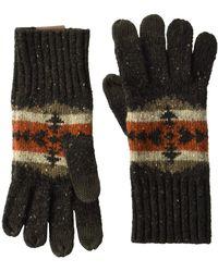 Pendleton - Knit Gloves (hawkeye Grey) Over-mits Gloves - Lyst
