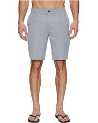 RVCA - Balance Hybrid Shorts (khaki) Men's Shorts - Lyst