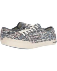 87dc445120 Seavees - Monterey Sneaker (silver Tweed) Women s Shoes - Lyst