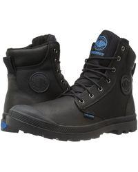 Palladium - Pampa Sport Cuff Wpn (bridle Brown/moon Mist) Boots - Lyst