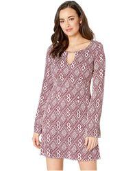 Stetson - 2309 Wine Aztec Dress (wine) Women's Dress - Lyst