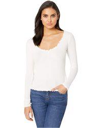 Lucy Love - Pucker Tee (white) Women's T Shirt - Lyst