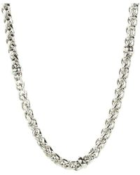 "Lauren by Ralph Lauren - 18"" Braided Chain Necklace - Lyst"