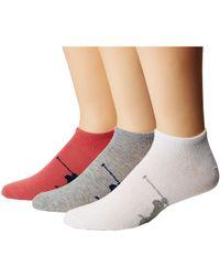 Polo Ralph Lauren - Big Knit-in Pp Low Cut 3-pack Socks - Lyst