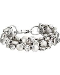 Lucky Brand - Coin Bracelet (silver) Bracelet - Lyst