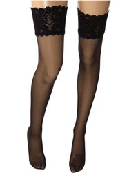 Wolford - Satin Touch 20 Stay-up Thigh Highs - Lyst