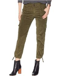 Sanctuary - Terrain Crop Pants (dark Prosperity Green) Women's Casual Pants - Lyst