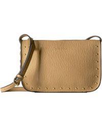 Calvin Klein - Novelty Studded Crossbody (cashew) Cross Body Handbags - Lyst