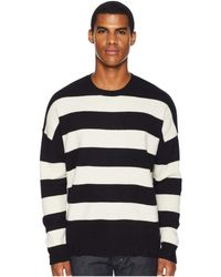 The Kooples - Striped Pullover (black) Men's Clothing - Lyst