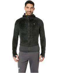 Mountain Hardwear - Monkey Mantm Grid Ii Hooded Jacket (nightfall Blue 2) Men's Coat - Lyst