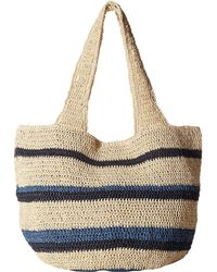 Hat Attack - Straw Carryall - Lyst