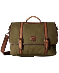 Lyst - Polo Ralph Lauren Camo-print Military Commuter Case in Green ... 2d9655103d