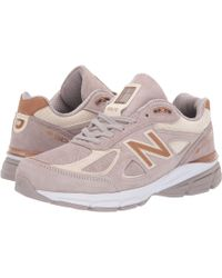 New Balance - W990v4 (lake Blue/lake Blue) Women's Running Shoes - Lyst