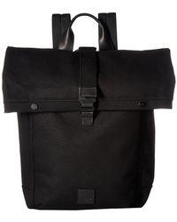 Knomo - Fulham Novello Roll Top Backpack (black) Backpack Bags - Lyst