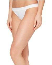DKNY - Classic Cotton Tailored Thong (cashmere) Women's Underwear - Lyst