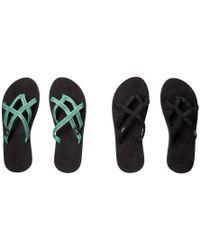 0d228bdf382e41 Teva - Olowahu 2-pack (mibob felicitas Black) Women s Sandals - Lyst