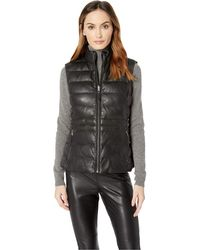 Scully - Rowena Premium Leather Reversible Contrasting (black) Women's Coat - Lyst