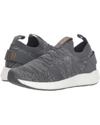 PUMA - Nrgy Neko Engineer Knit (iron Gate/quarry/metallic Bronze) Women's Shoes - Lyst