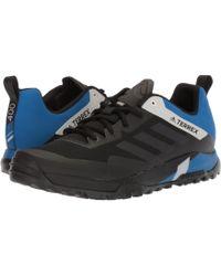7f8ec28c0584 adidas Originals - Terrex Trail Cross Sl (black carbon blue Beauty) Men s