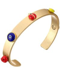 Tory Burch | Crazy Charms Double-wrap Bracelet | Lyst