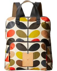 Orla Kiely - Matt Laminated Classic Multi Stem Backpack Tote - Lyst