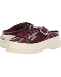 Superga - Alexa Chung - 2279 Alpinapatentleaw Slip-on (ox Blood) Women's Slip On Shoes - Lyst