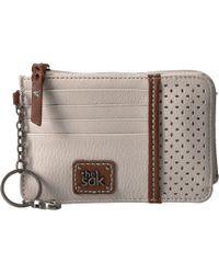 The Sak - Iris Card Wallet (black Onyx) Wallet Handbags - Lyst